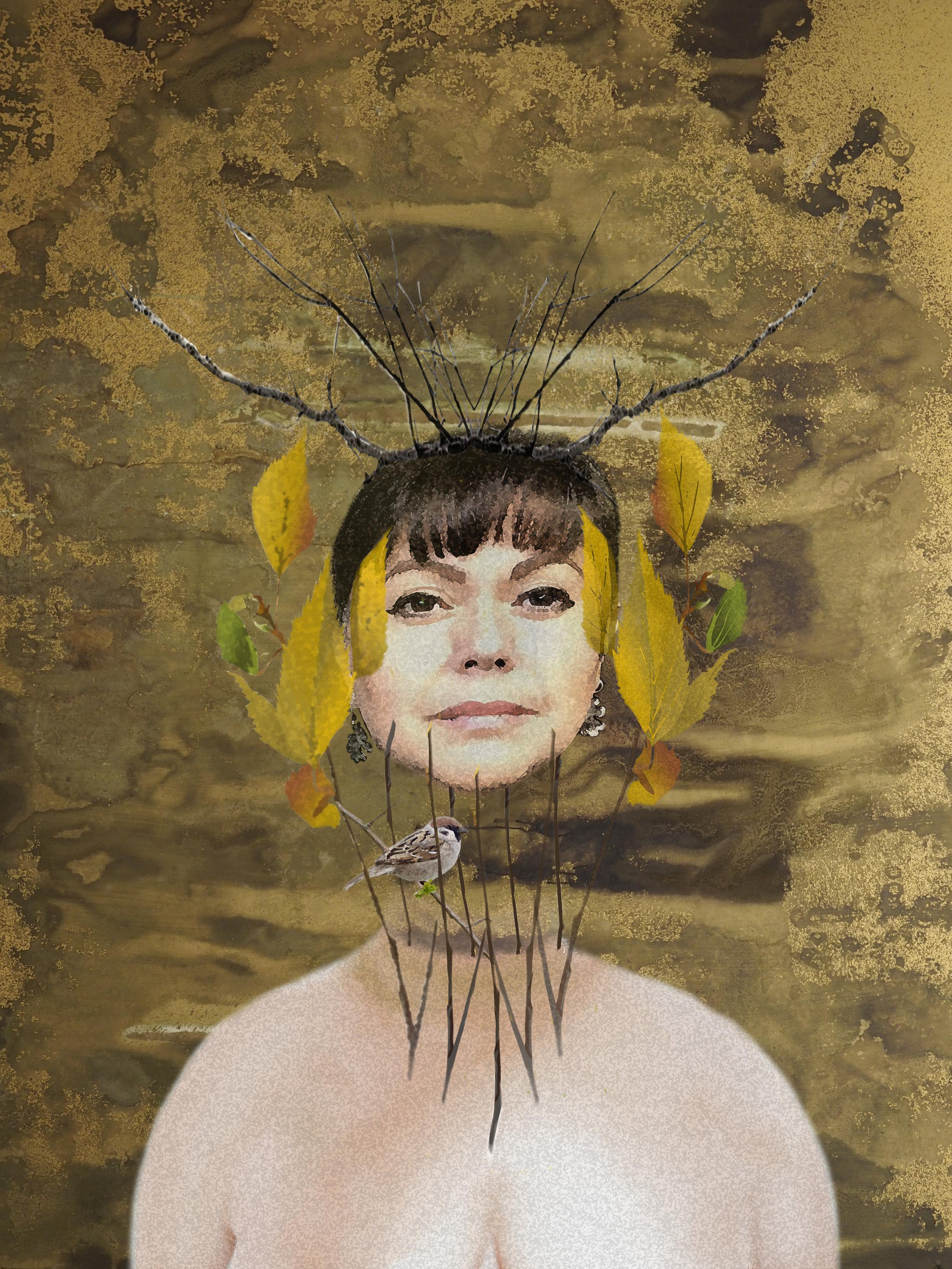 Entrapped Freedom - A Surreal PortraitMODEL | Self-Scrutiny