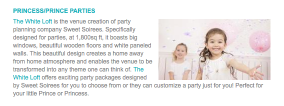 Little Steps Themed Parties For Kids, September 2016 pg1.png