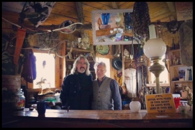 with Mick, owner of a western dude ranch in the Midlands of Ireland, County Laois