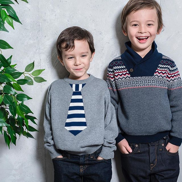 Sweaters from fall/winter 2017 collection #tiesweater #kidswear #kidssweater #barquekids #barquenewyork #coolboysclothing #kidsfashion #kidsbrand #kidscollections