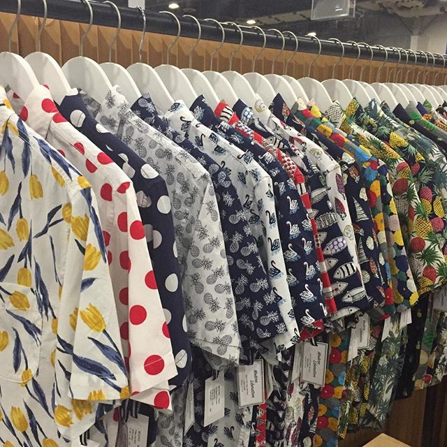 Showing Modern Liberation SS19 Collection  @libertyfairs starting tomorrow! Come see us at booth# 113! #modernliberation #printshirts #menshirts #menshirtsshop #prints #beach #resort #summerfun #ss19collection #ss19 #barquenewyork