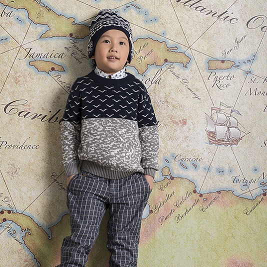 Seagull sweater from our fall collection.  Now available in stores across the US!  #chickids #kidsstyle #kidssweater #seagull #seagullsweater #barquekids #barque #barquenewyork #kidswearbrand #kidswearmagazine
