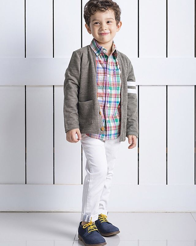 Little gentleman looking dapper and stylish #littlegentleman #kidscollections #preppyboystyle #ss2017collection #childrensclubnyc #barquenewyork #ss2017kids #kidswear #coolboysclothing #coolkids
