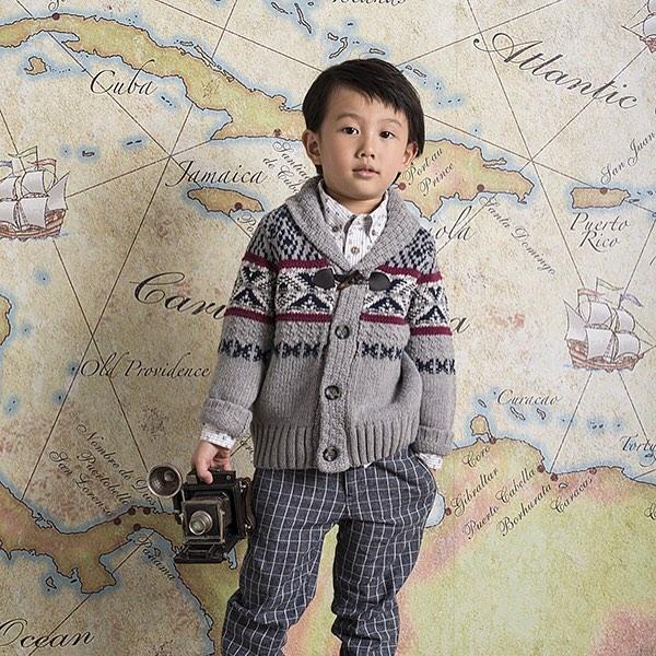 New adventure begins!  #nordiccardigan ##kidscardigan #kidsshawlcollarcardigan #voyage #voyagecollection #kidstraveller #kidswear #coolkids #coolkidsclothes #kidssweater