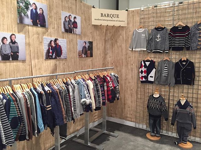 Showing BARQUE Fall/Winter 2017 collection @ Children's Club in NYC, booth# 1020 #childrensclub #childrensclubnyc #kidsbrand #boysclothing #coolboysclothing #barquekids #barquenewyork