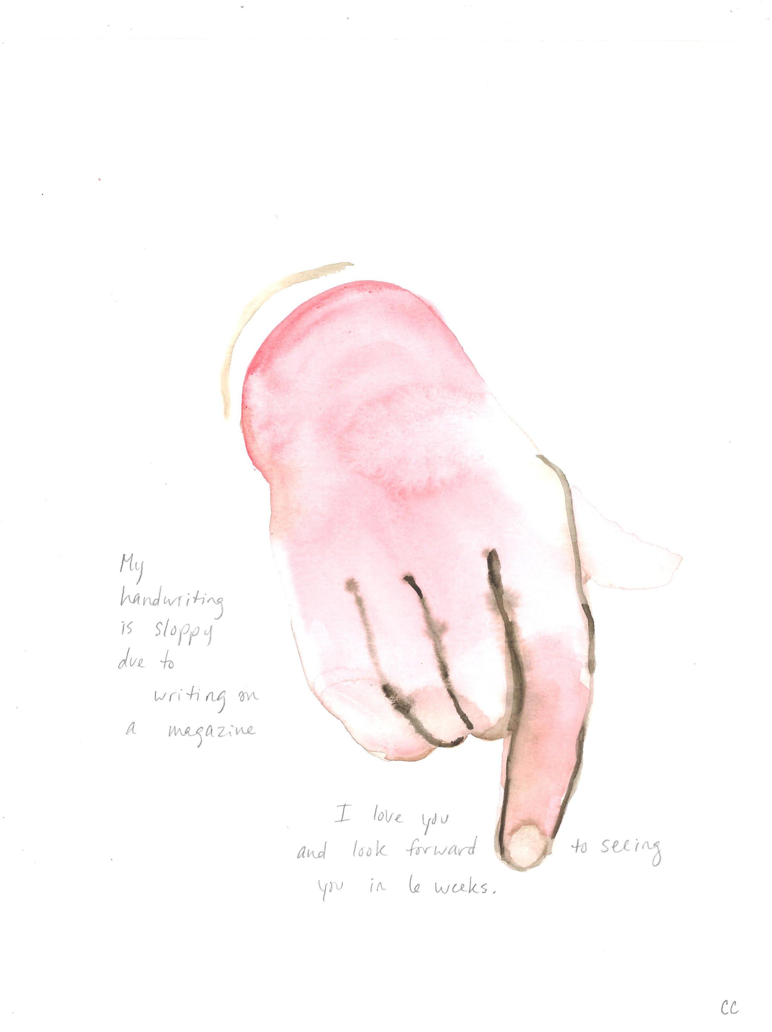 Hand Memoir #1
