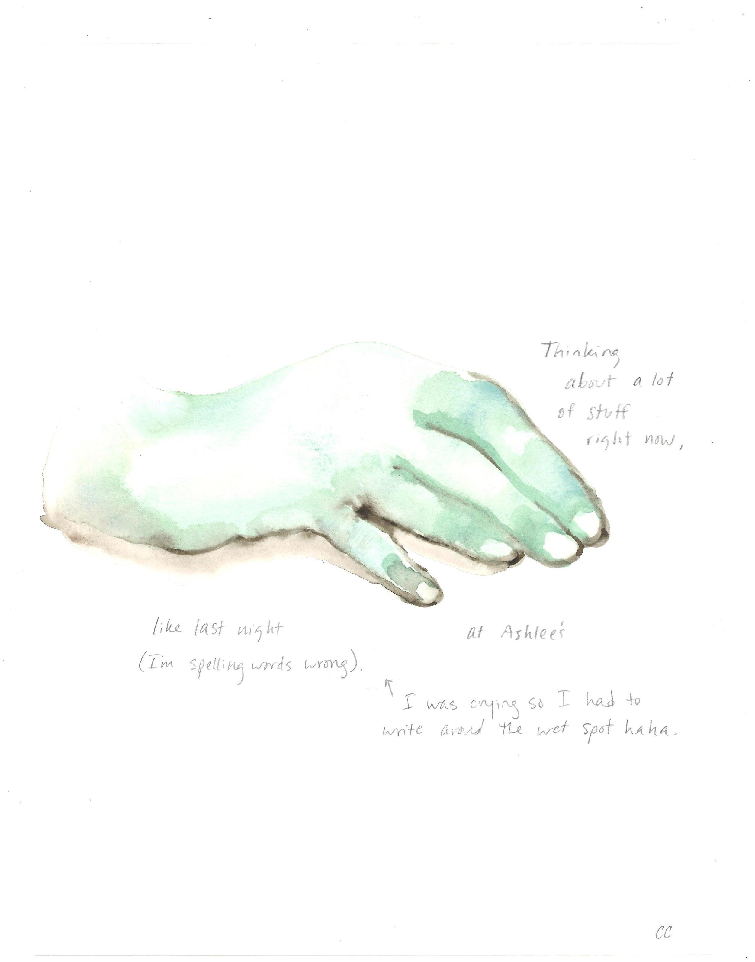 Hand Memoir #2