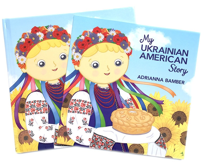 ABamber+My+Ukrainian+American+Story+Book