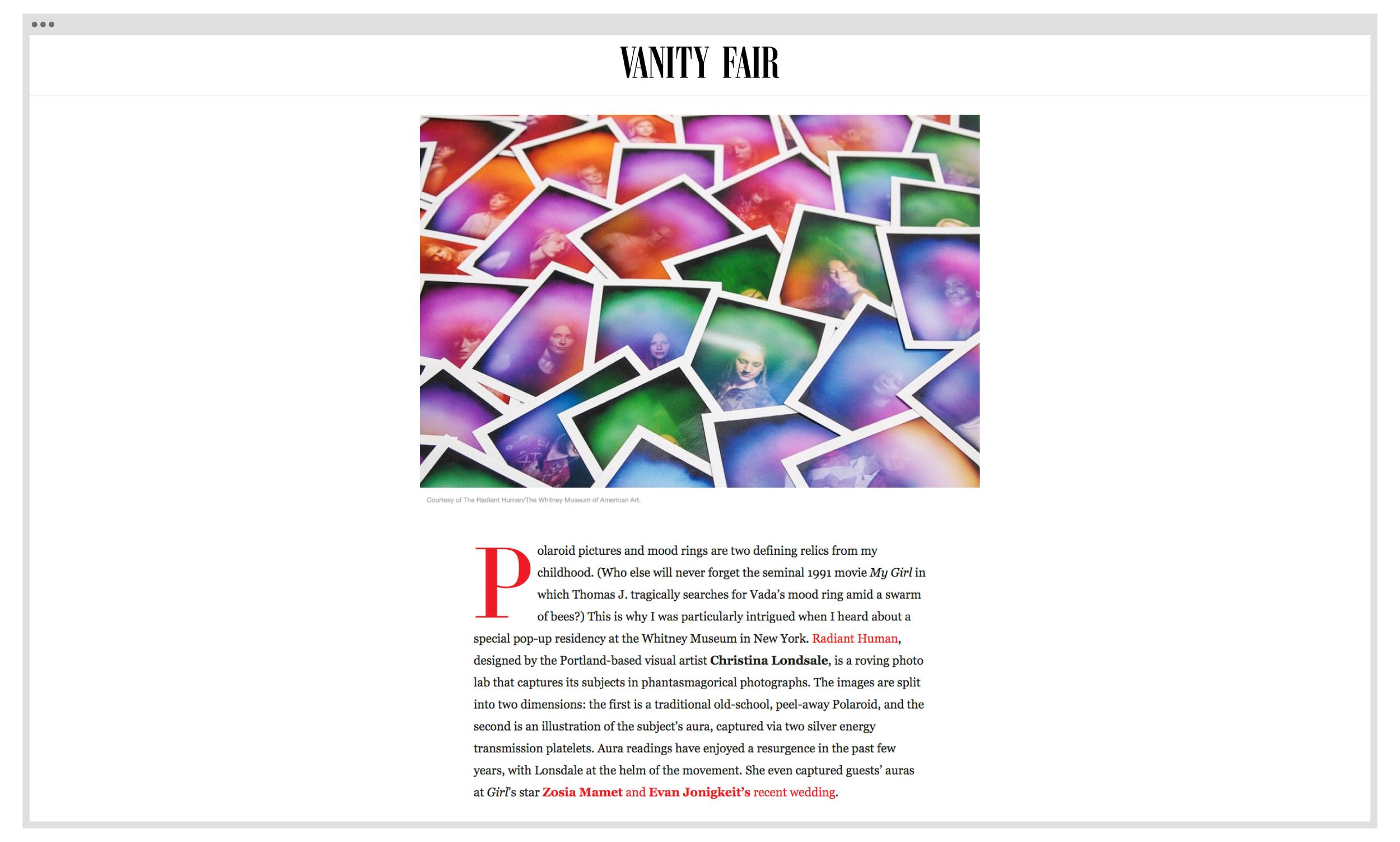 Copy of Vanity Fair