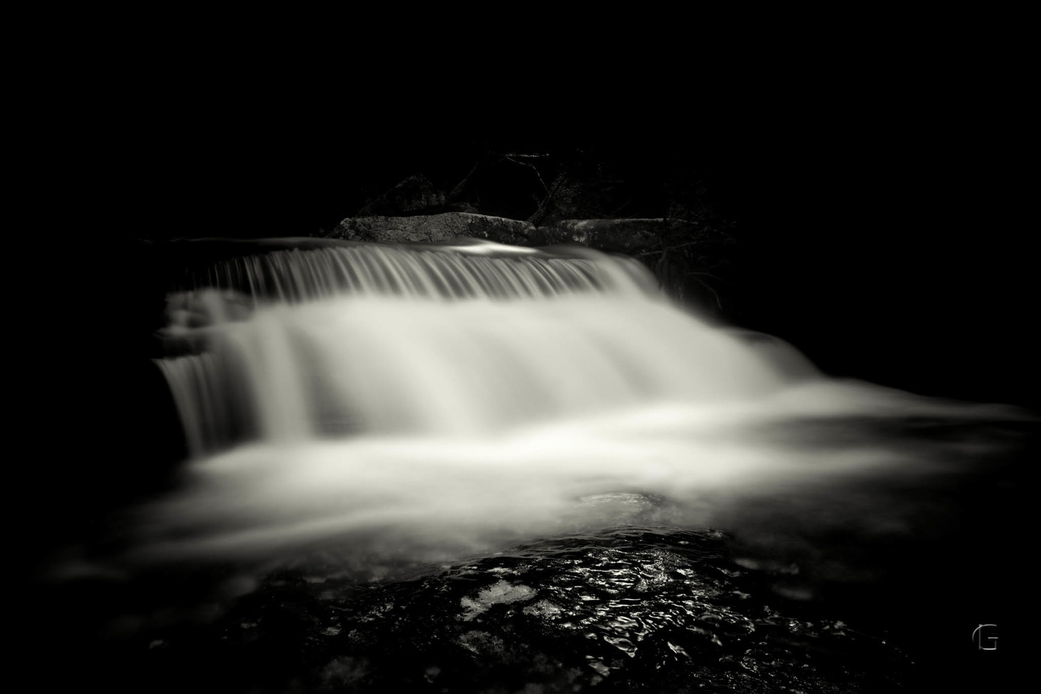 Mc Carrs Creek (Nature Nominee, Black & White Spider Awards 2015)
