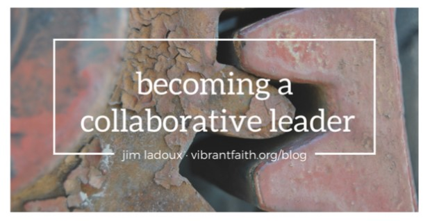 This article originally appeared at the wonderful  vibrantfaith.org  blog, and is written by Jim Ladoux. Imagine using this as a discussion piece at your Bible study group!