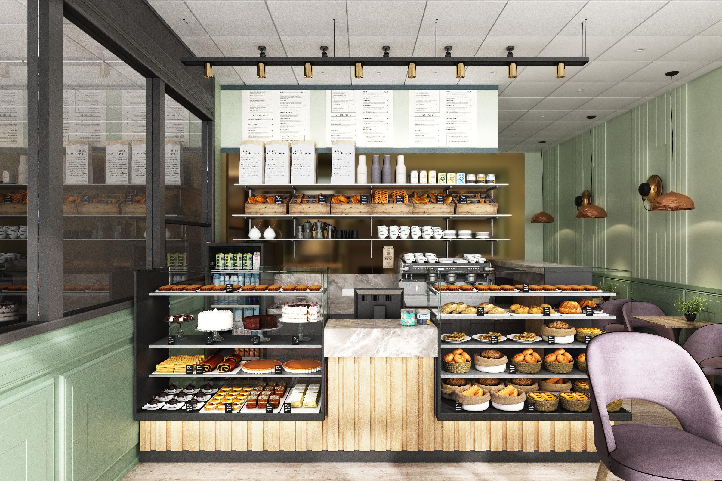 Пекарня-кафе