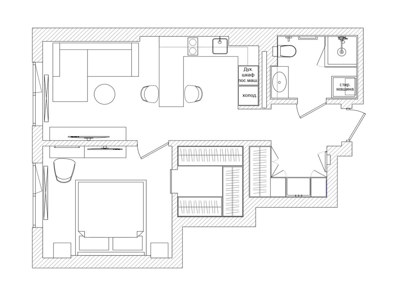 Waves apartment_azari-architects.com_plan