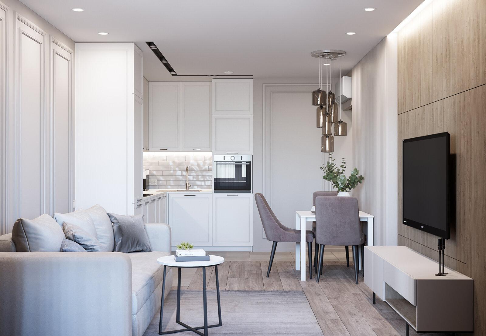 Beige-apartment_azari-archetects_1