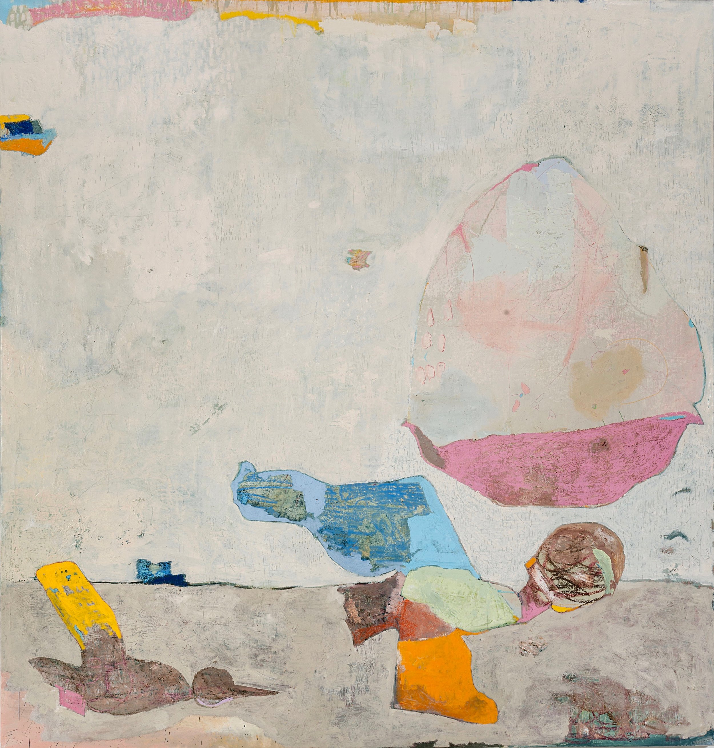 Untitled 163 (s)  Oil on canvas  200 x 210cm