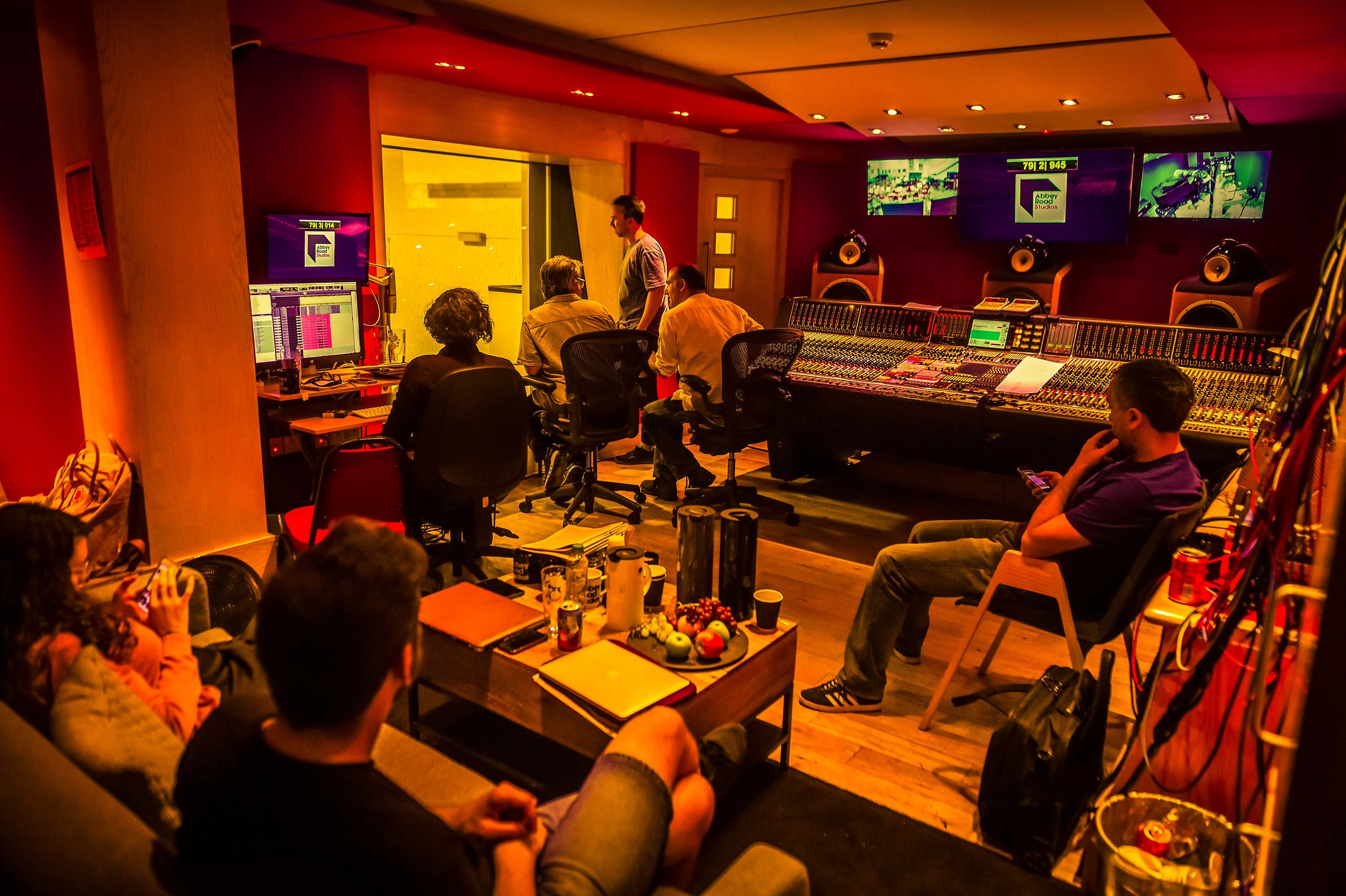 Studio 2 Control Room