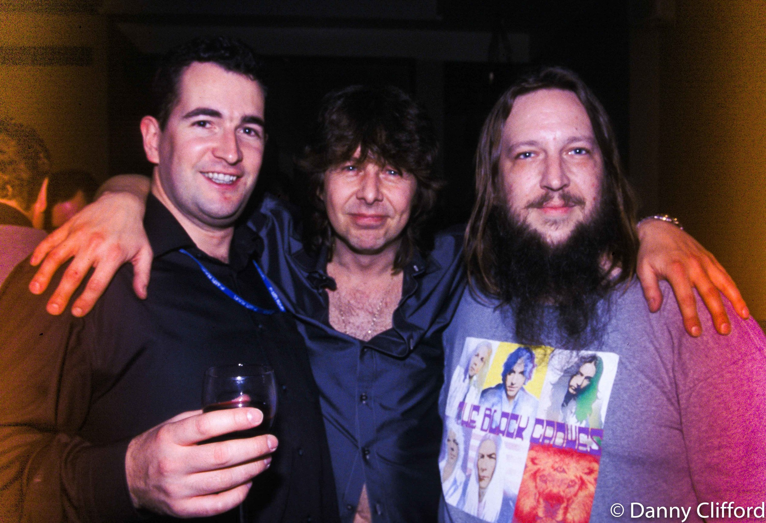 Paddy Hegan, Clive Burr & Robert (California) Roberts