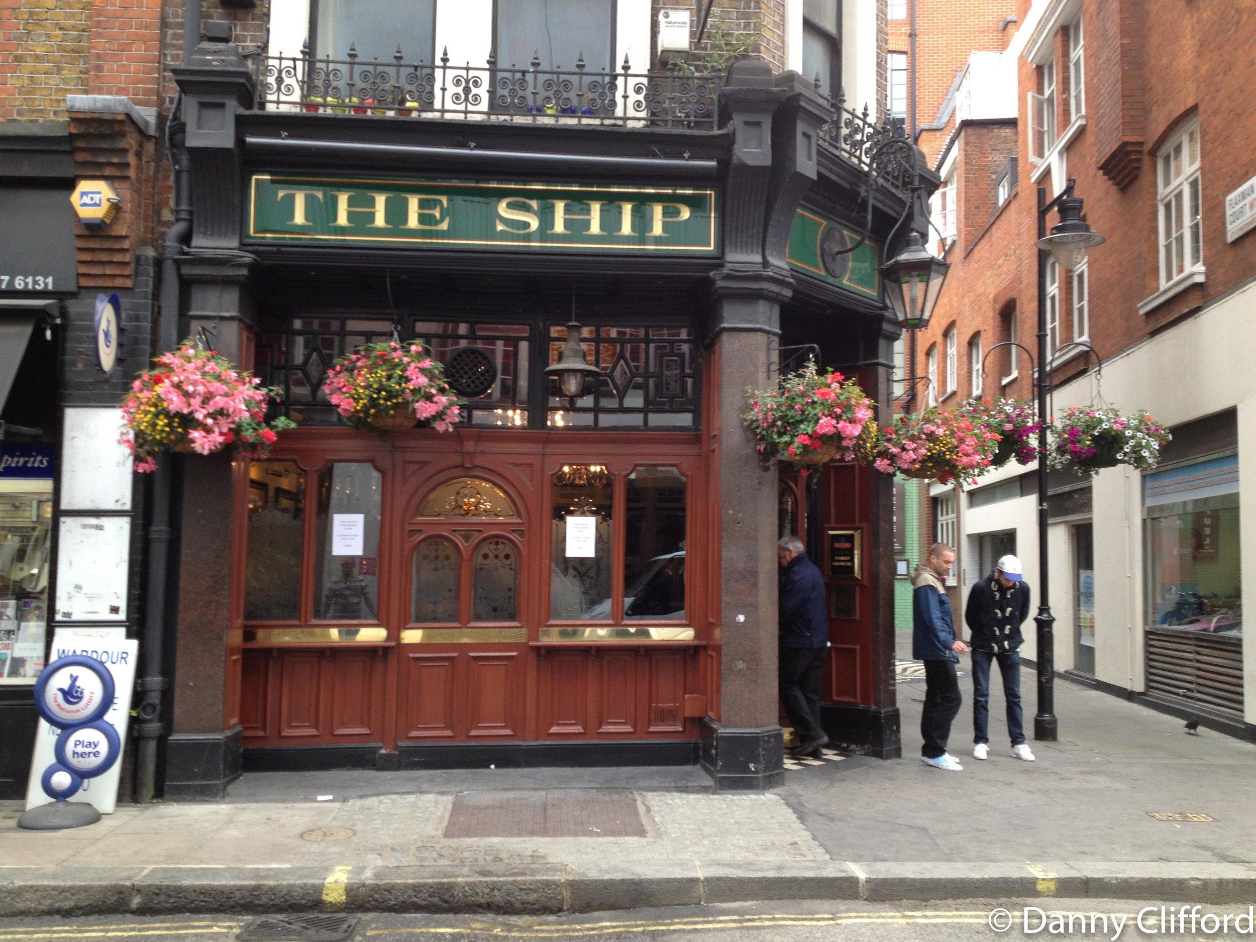 The Ship, Wardour Street, London.