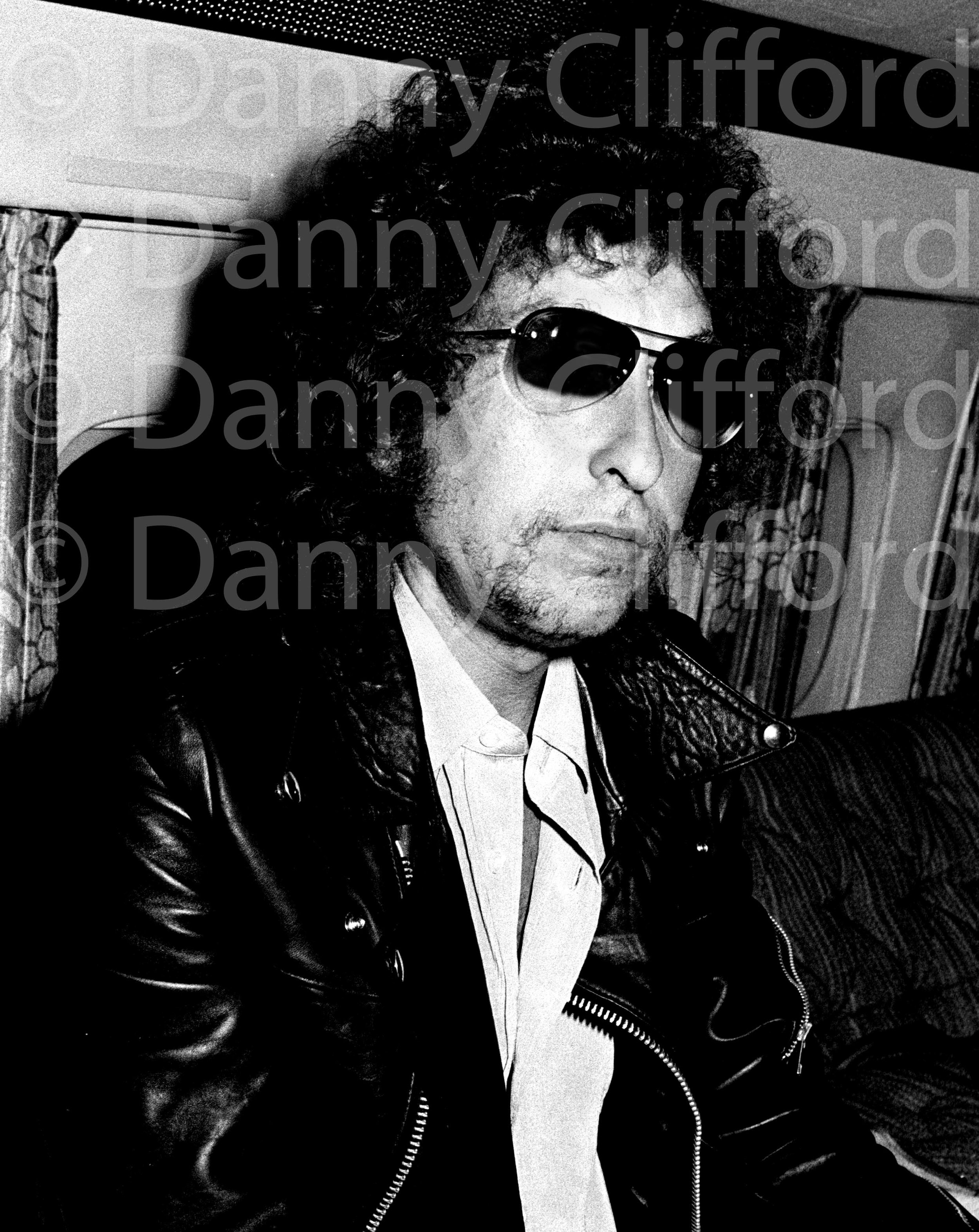 Bob Dylan relaxing on my first flight.
