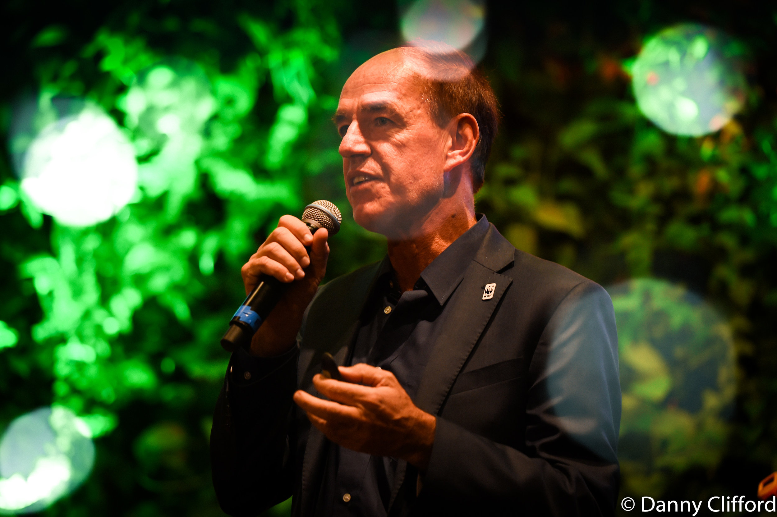 WWF International Director General, Marco Lambertini speaking about WWF & our planet.