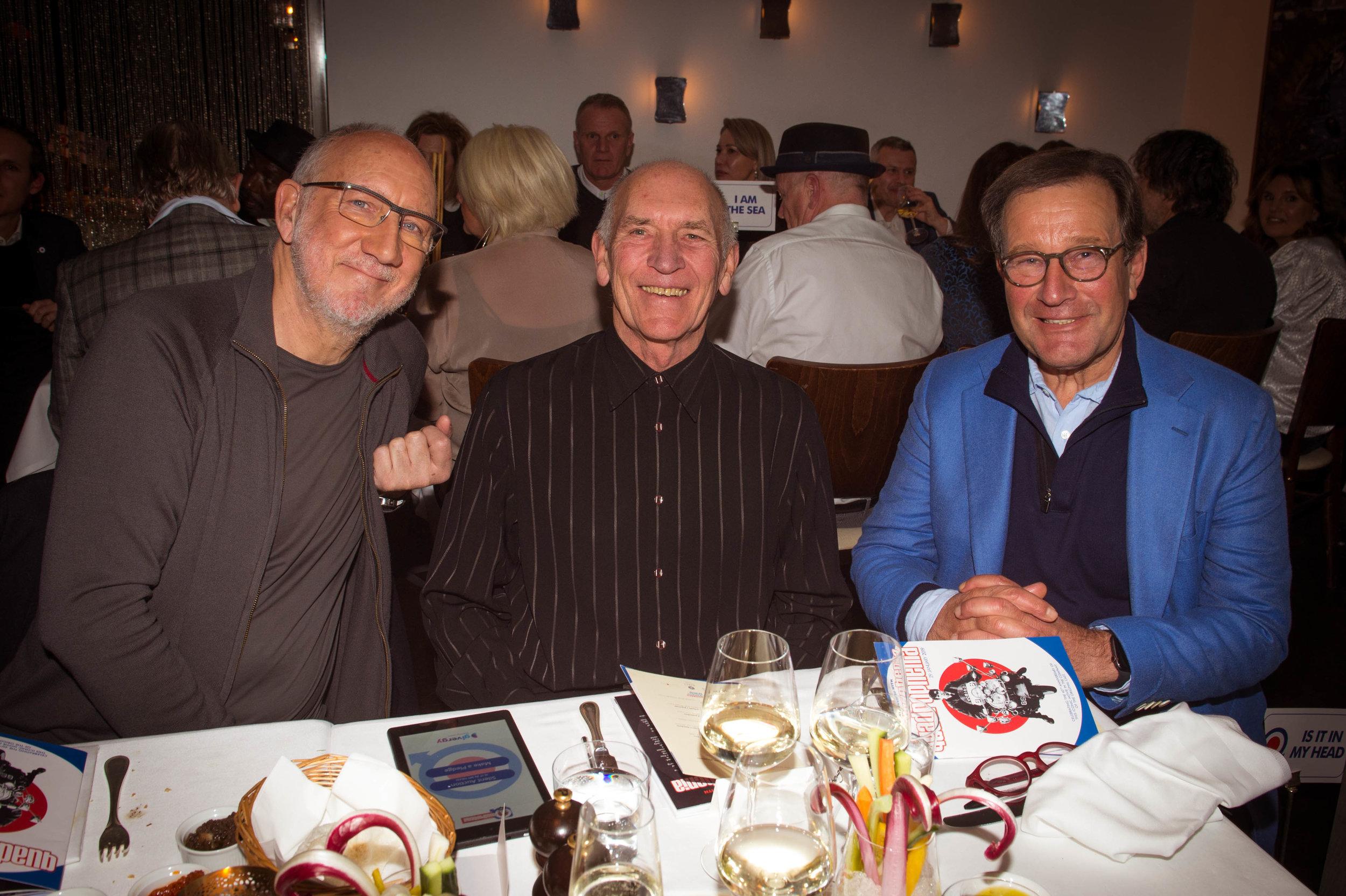Pete Townshend, Bill Curbishley, Richard Desmond