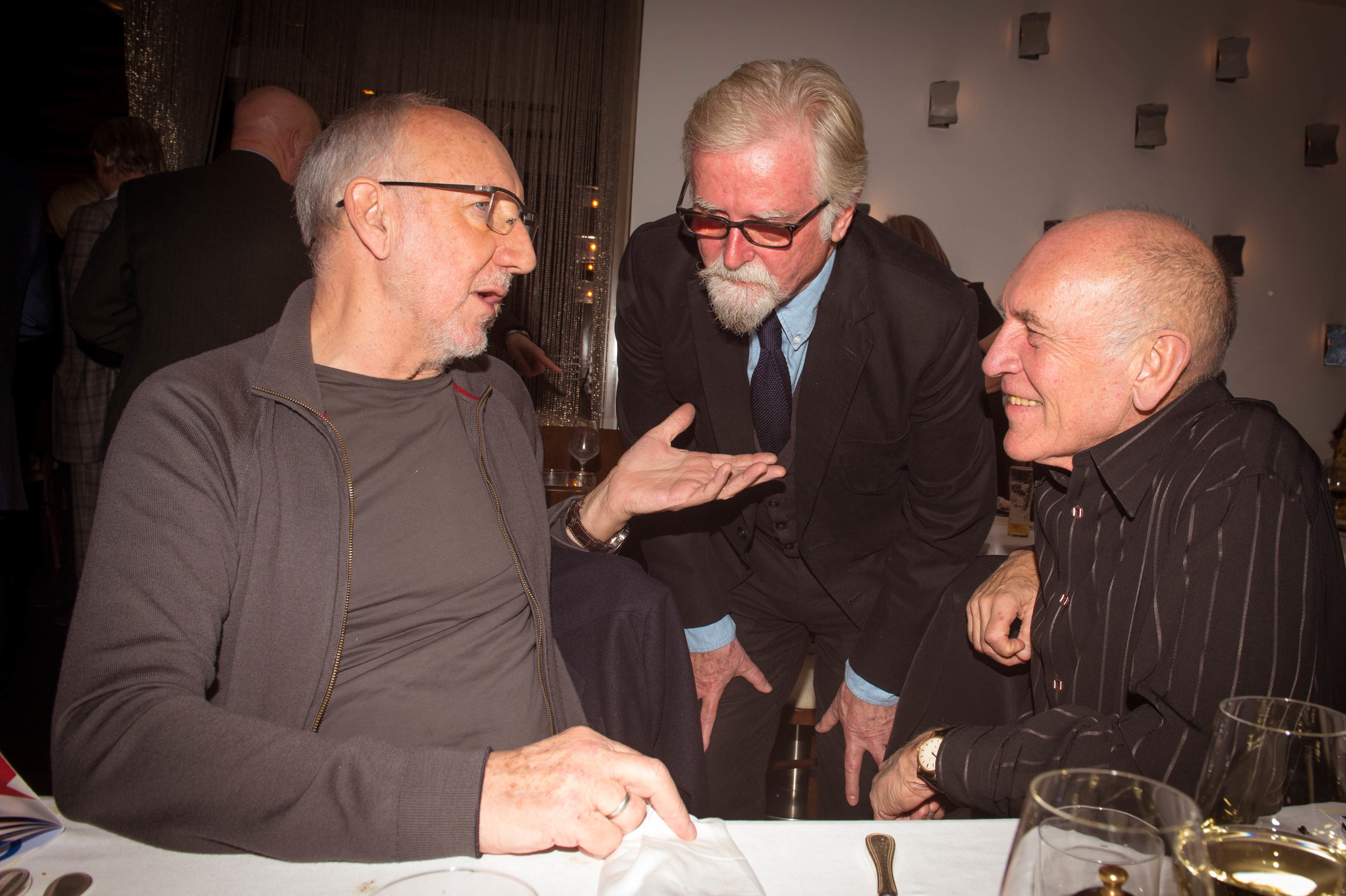 Pete Townshend, Frank Roddam, Bill Curbishley