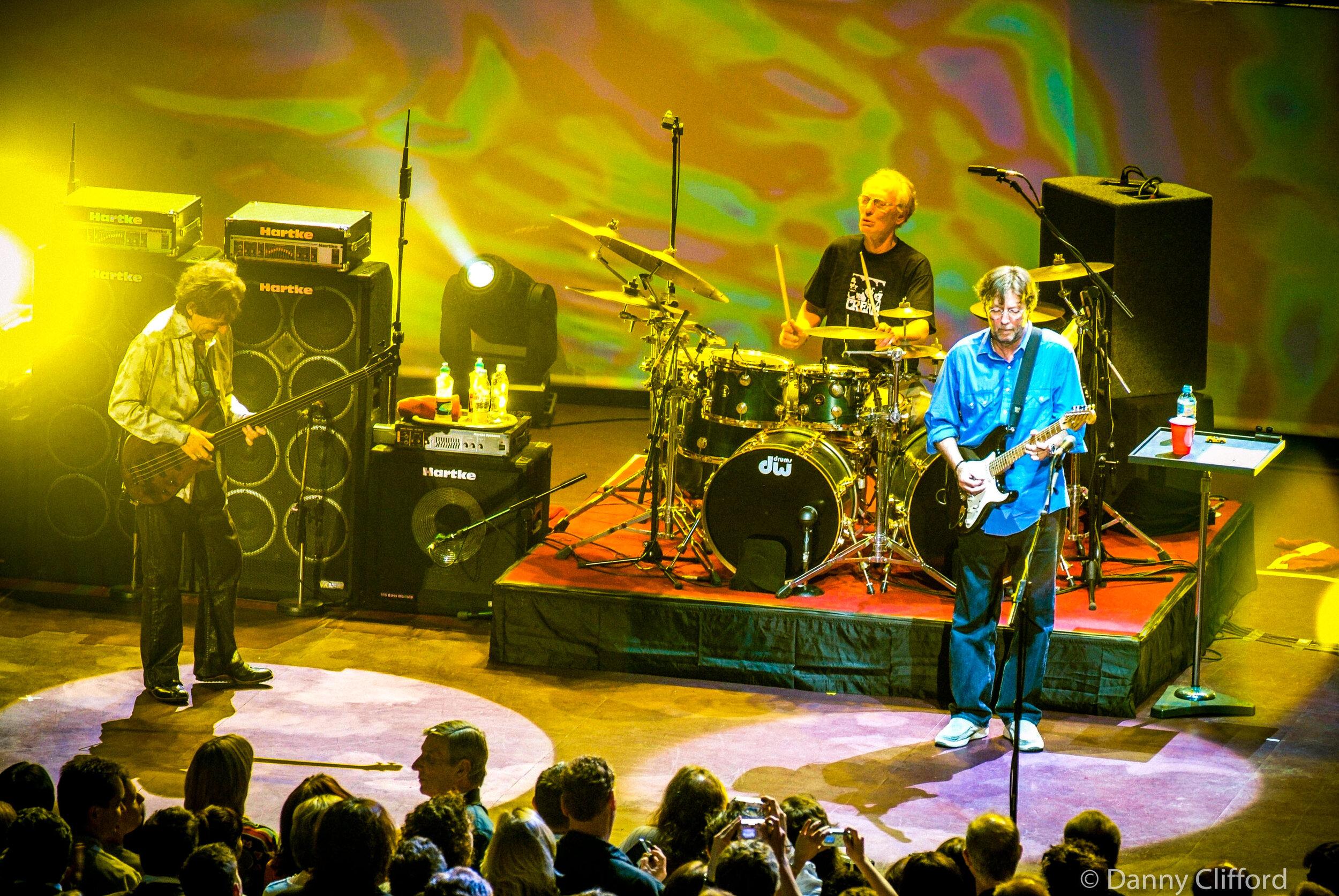 Cream performing at Royal Albert Hall, London