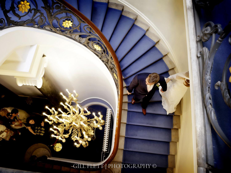 Carlton-House-Terrace-stairs-bride-groom-arrival-gillflett-photo.jpg