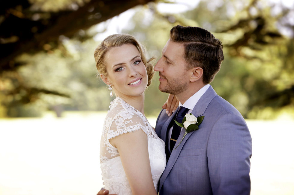 london wedding photographer gill flett bride and groom portrait