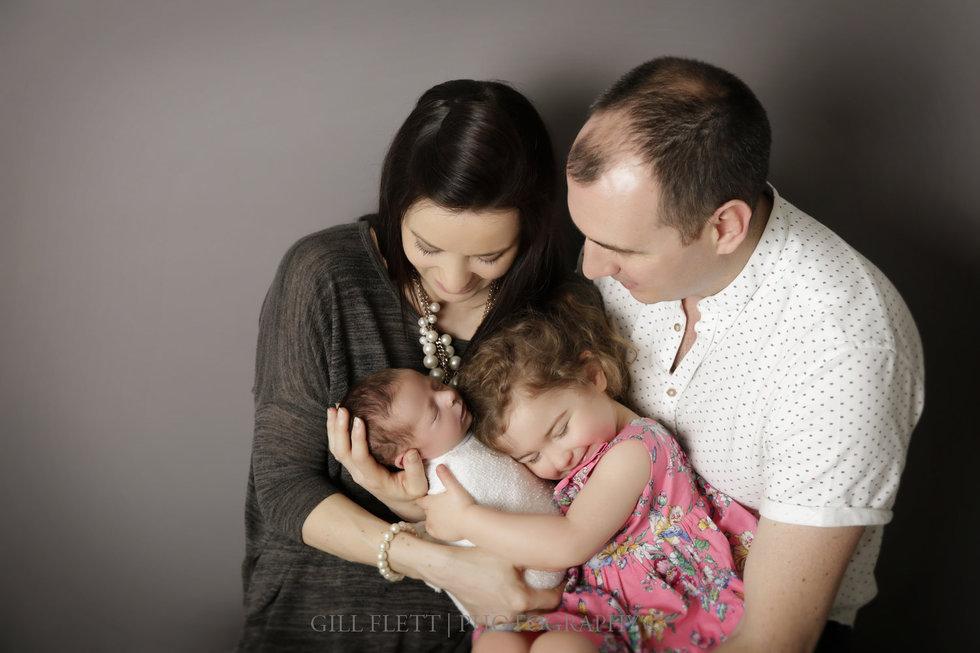 london newborn photographer family 4