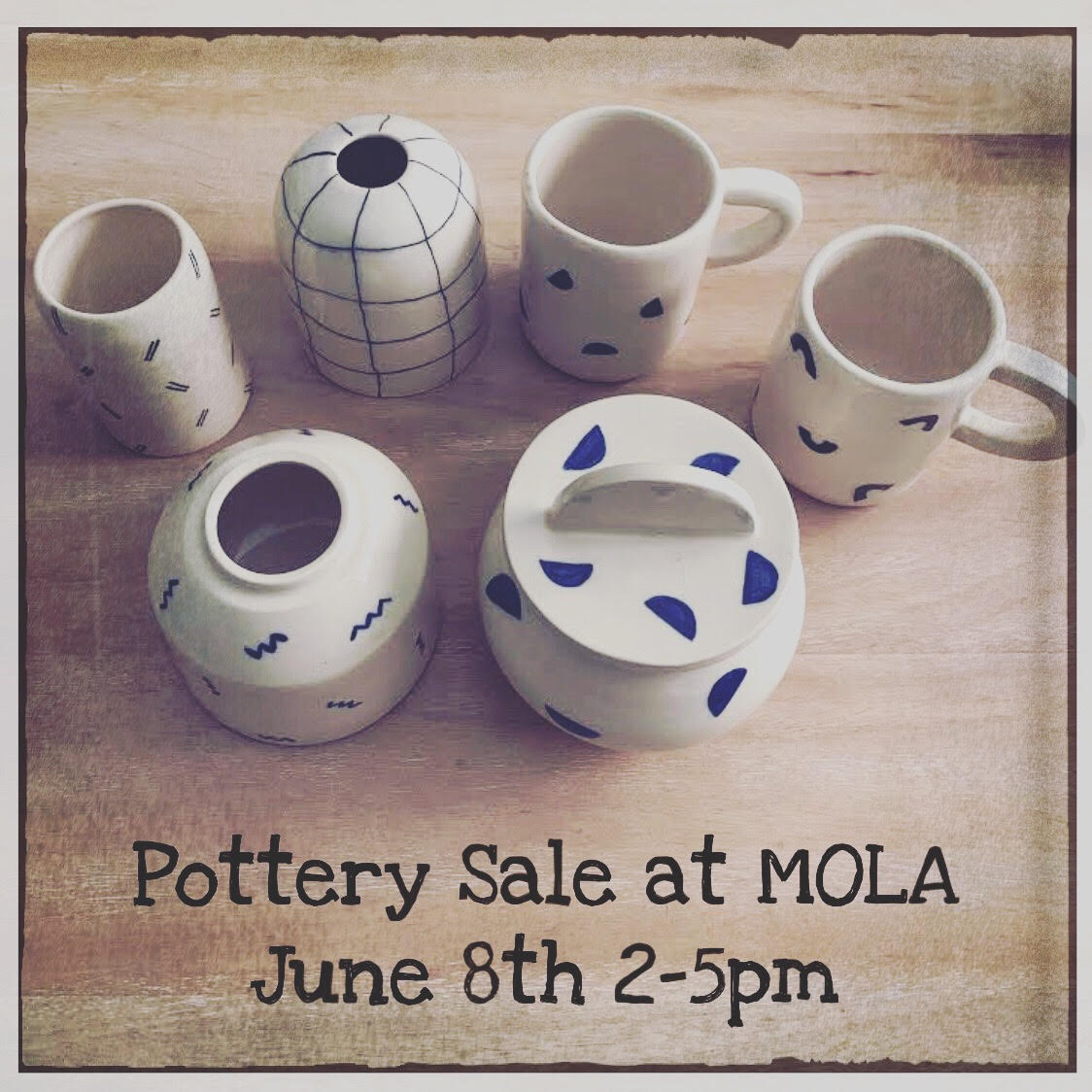 Pottery studio sale by Members Only LA members — ilovecreatives