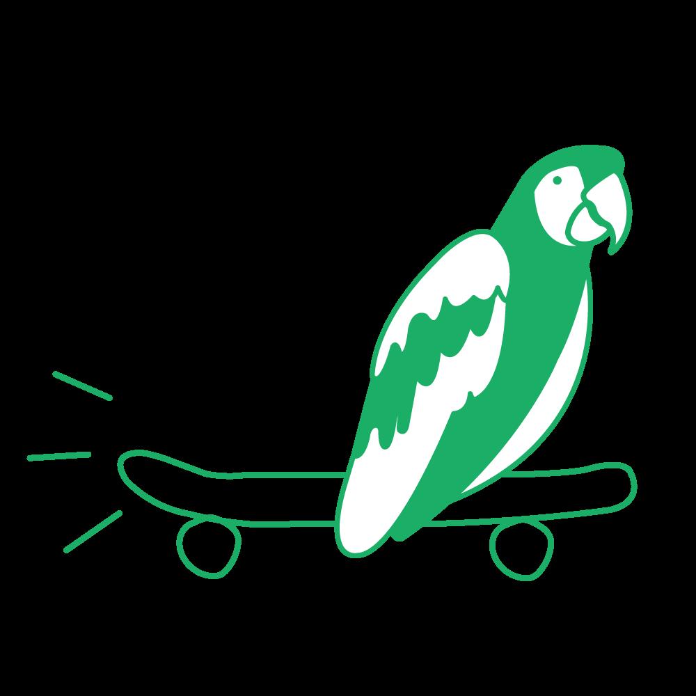HL_SkateboardingParrot.png