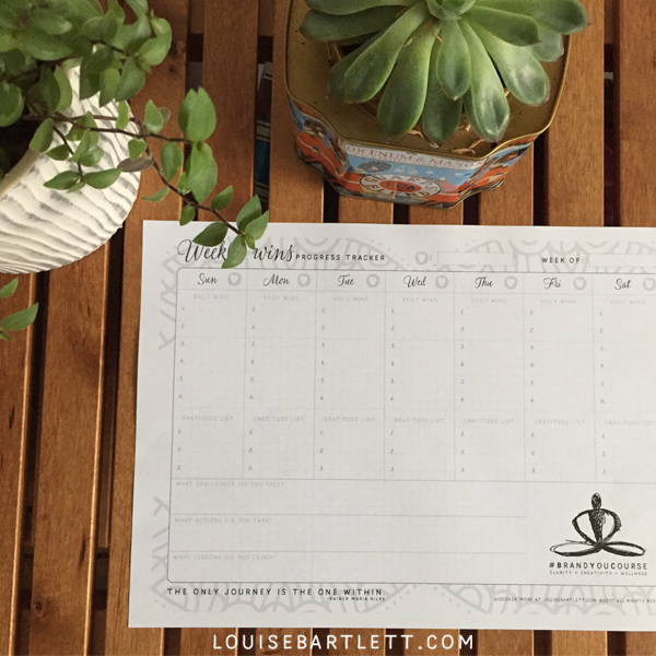 Weekly Wins project tracker