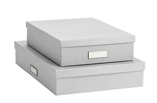 Bisgo Stockholm Office Storage Boxes