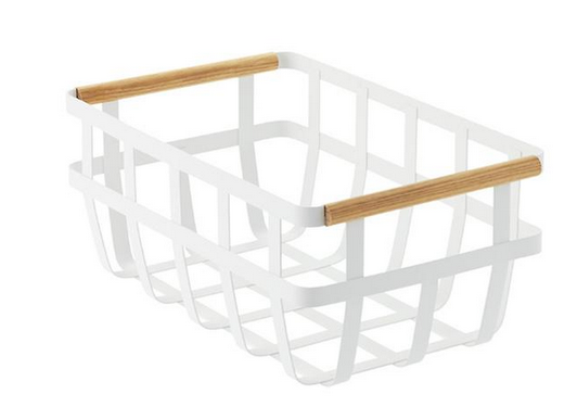 Tosca Basket with Wooden Handles