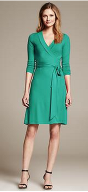 Gemma Wrap Dress