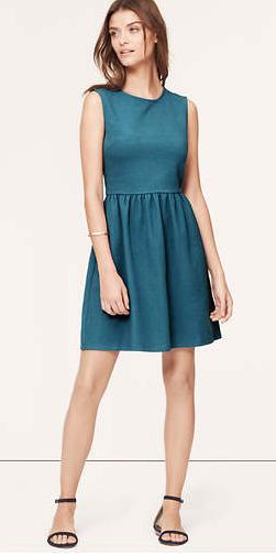 Mixed Stripe Sleeveless Dress