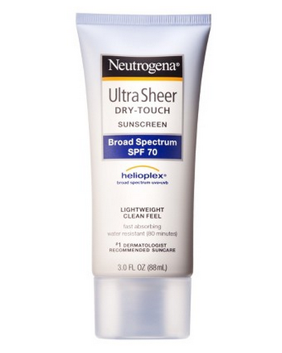 26.  Sunblock!  (available in any drugstore)