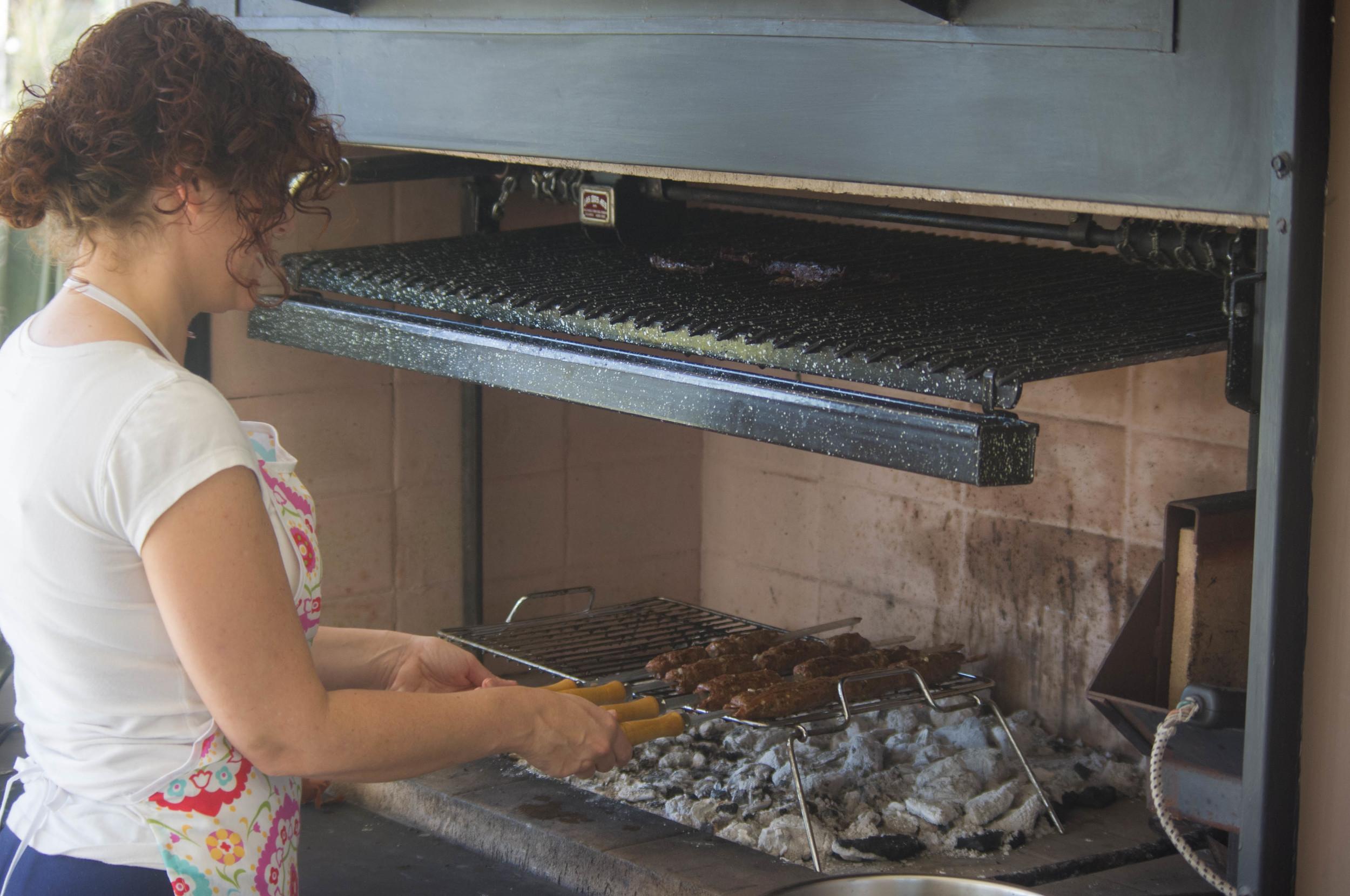 Kebab a la parrilla