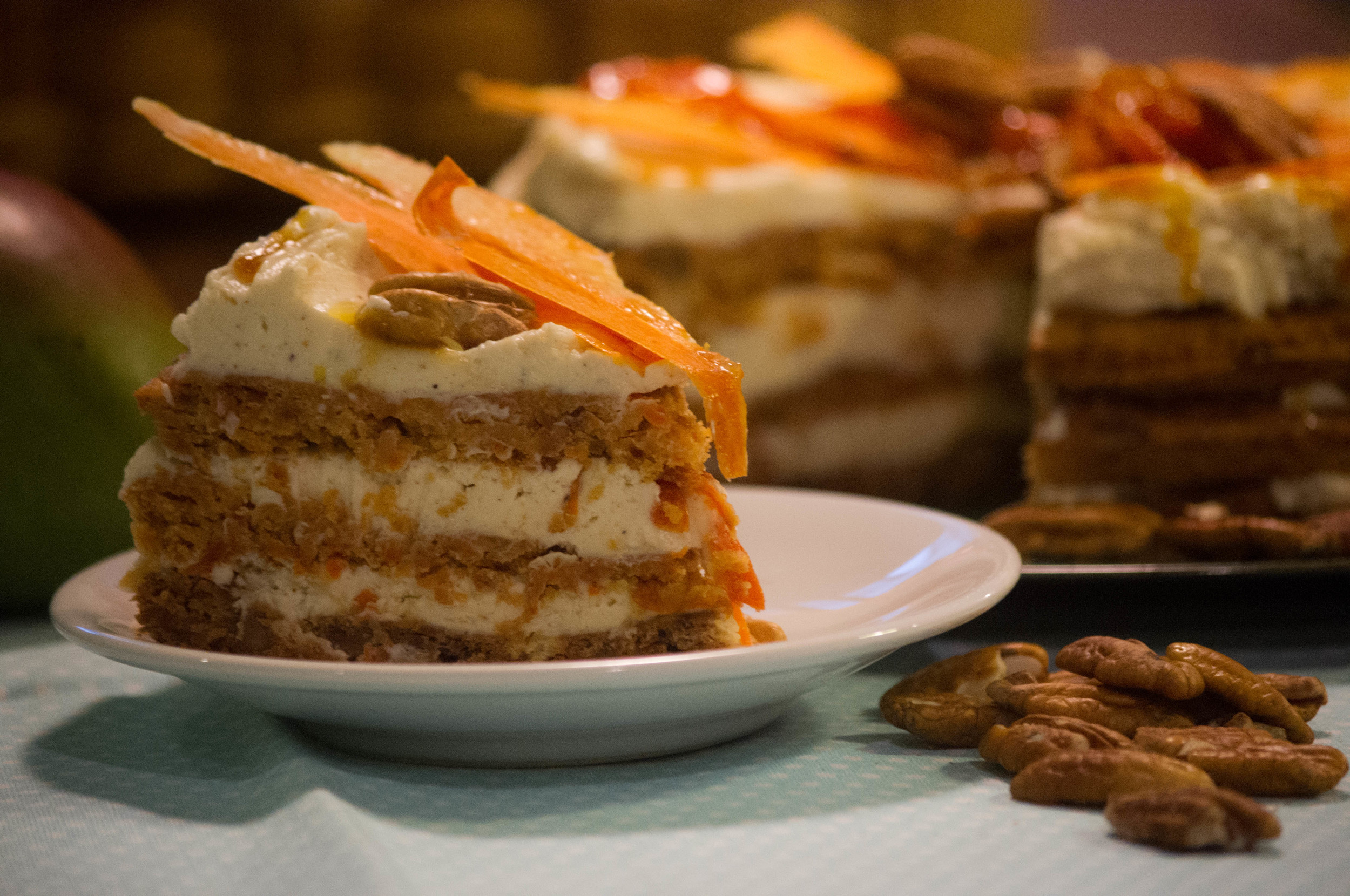 Mango carrot cake 2