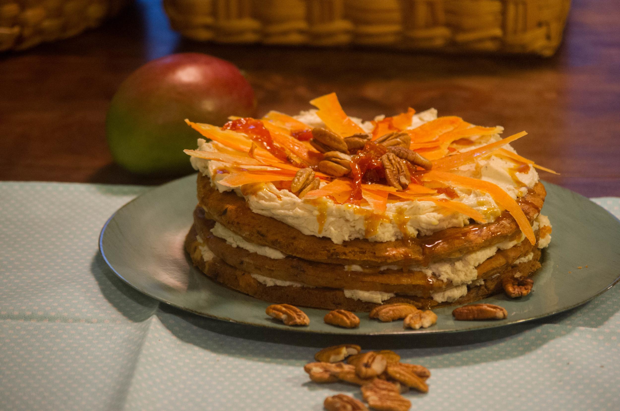 Mango Carrot cake 3