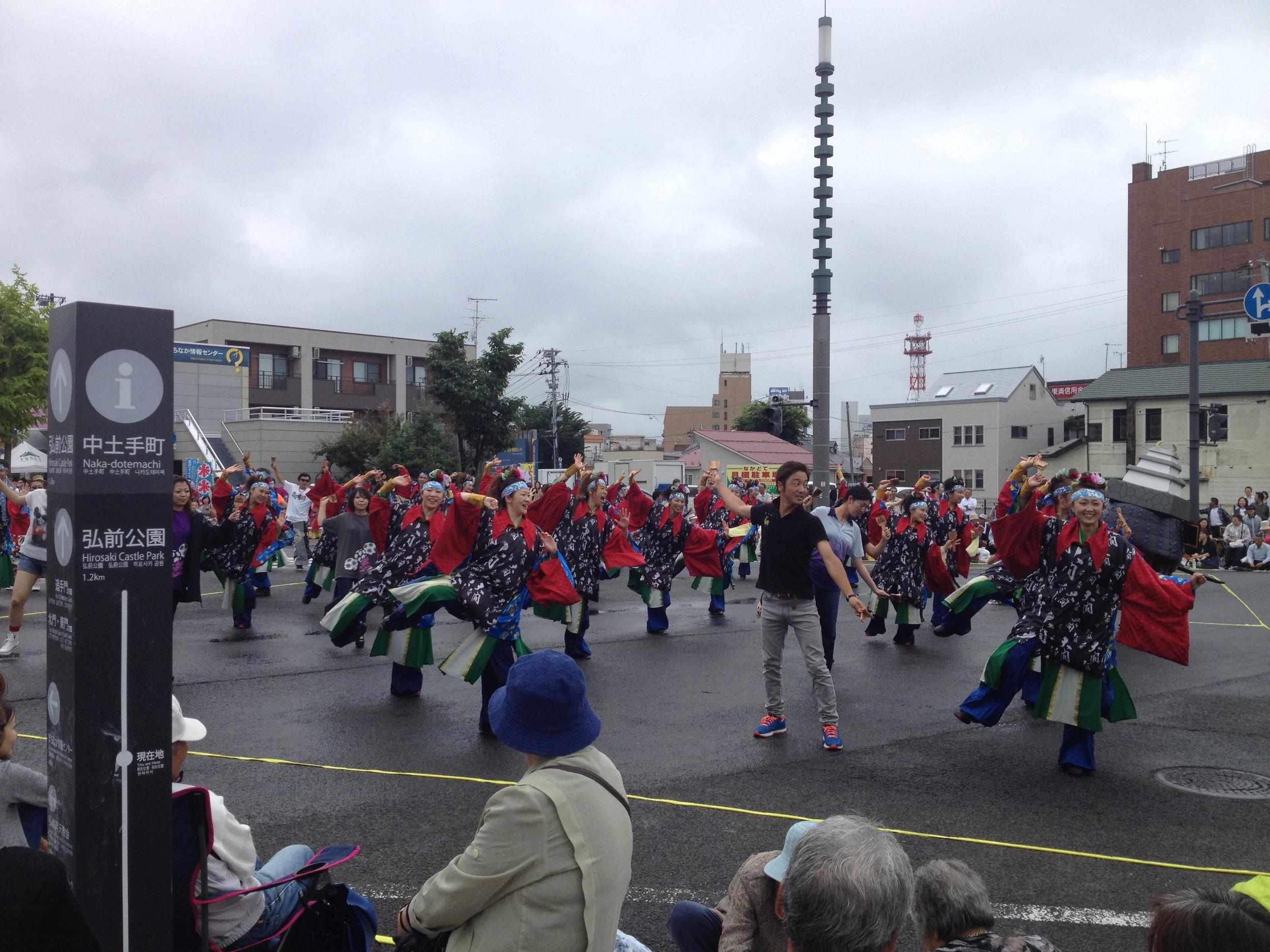 Dancers in Hirosaki