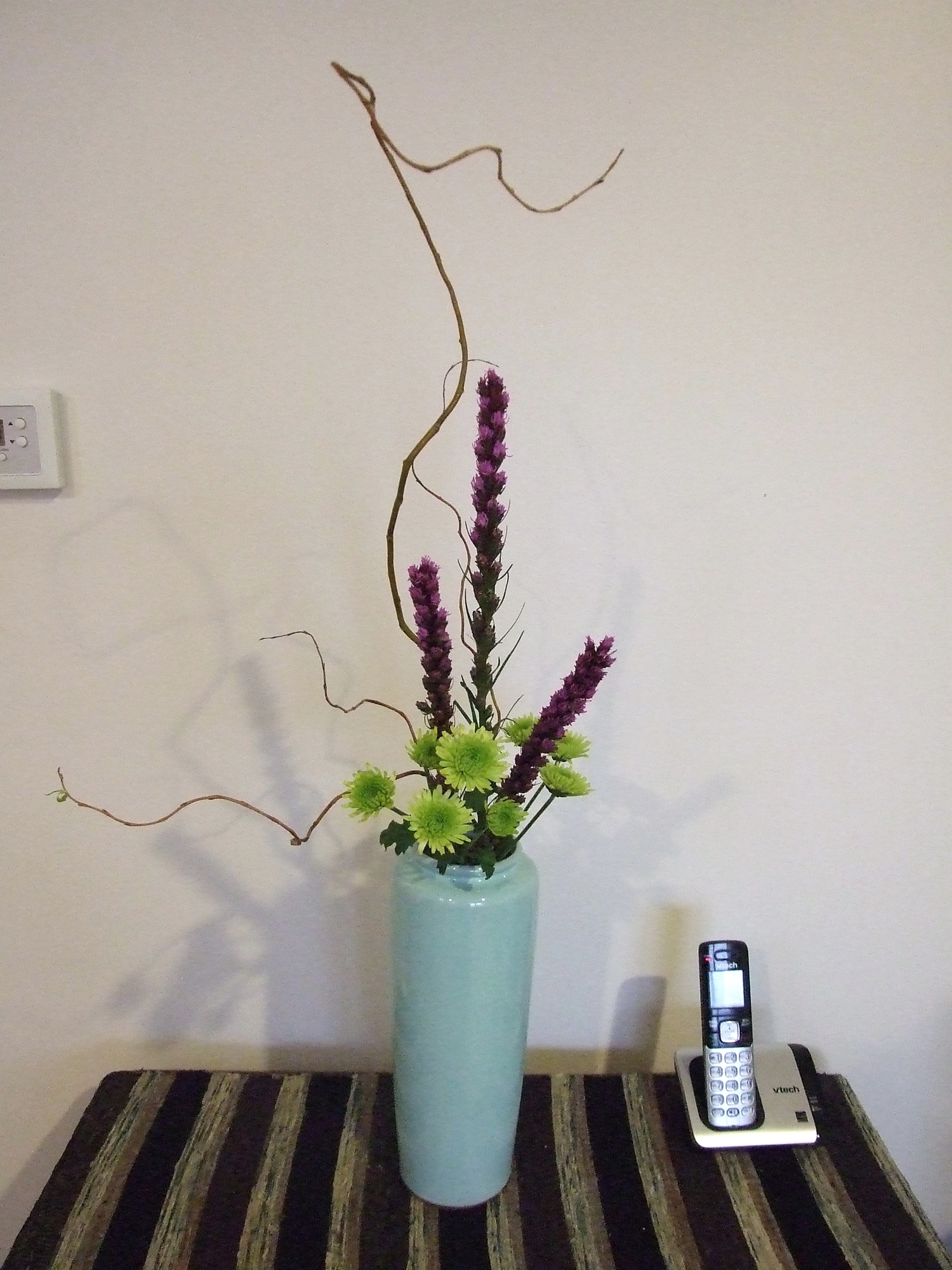 Curly Willow, Baby Mums, and Blazing Star