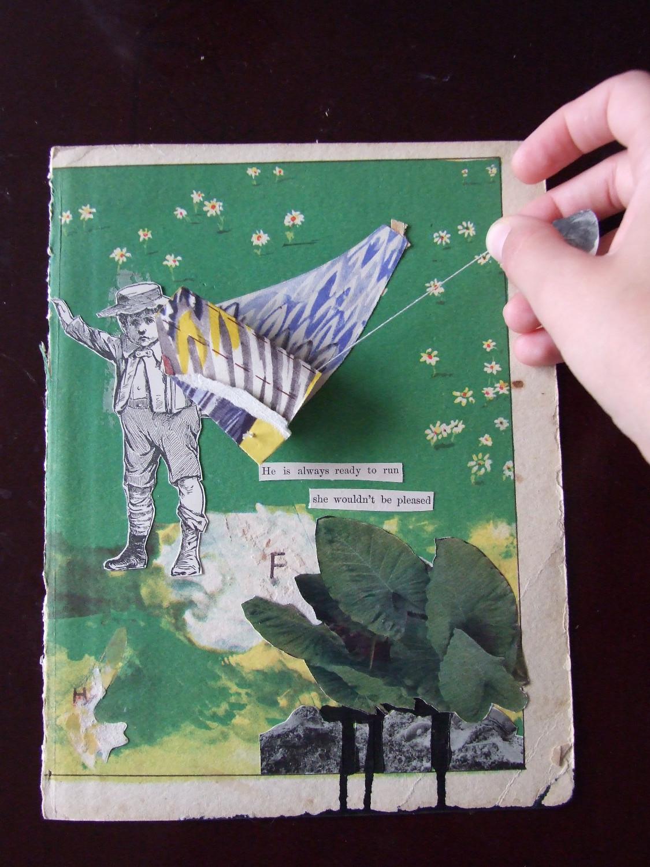 Winged Elephants  2014 Collage