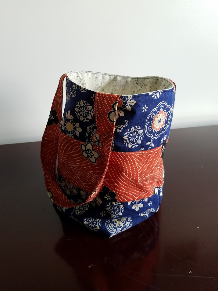 """This structured tote is fully lined and the perfect size for anything from groceries to library books. 25"""" x 16"""" x 10"""""""