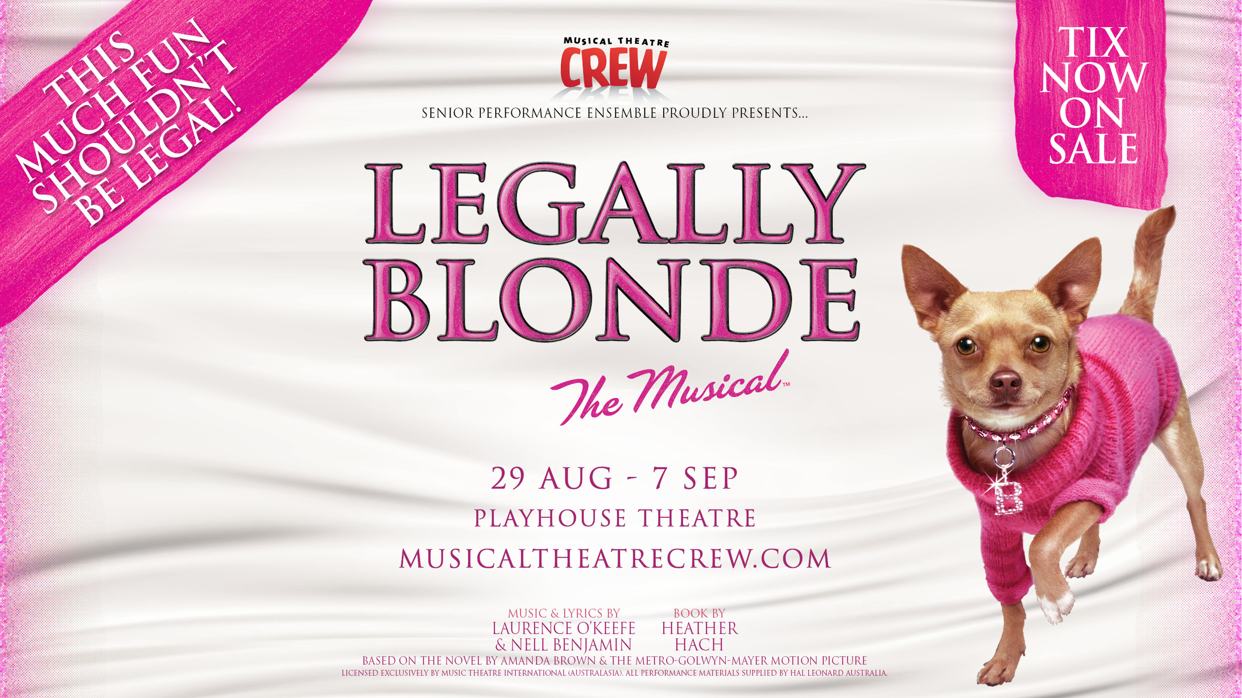 Legally Blonde 2019 Playhouse