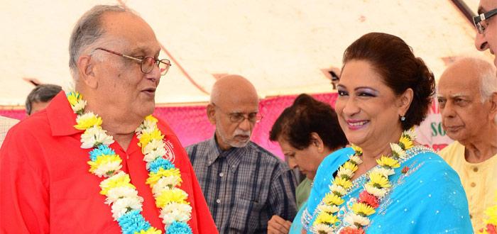 Dynamic duo: Sat Maharaj and Kamla Persad-Bissessar
