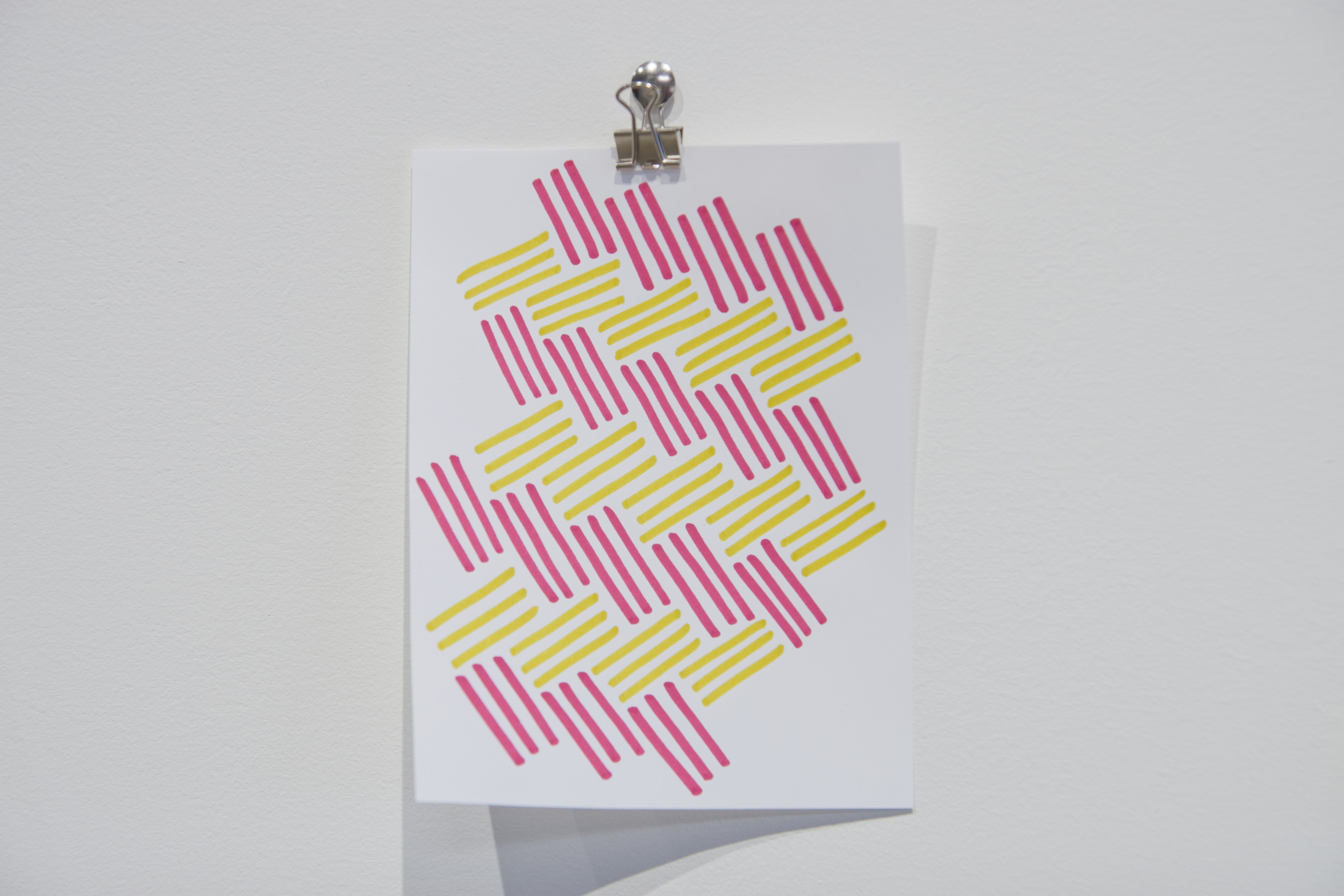 Drawings , 2014/15,marker, pen, and/or pencil crayon on paper,13 x 10 cm (4 x 5 1/4 in)
