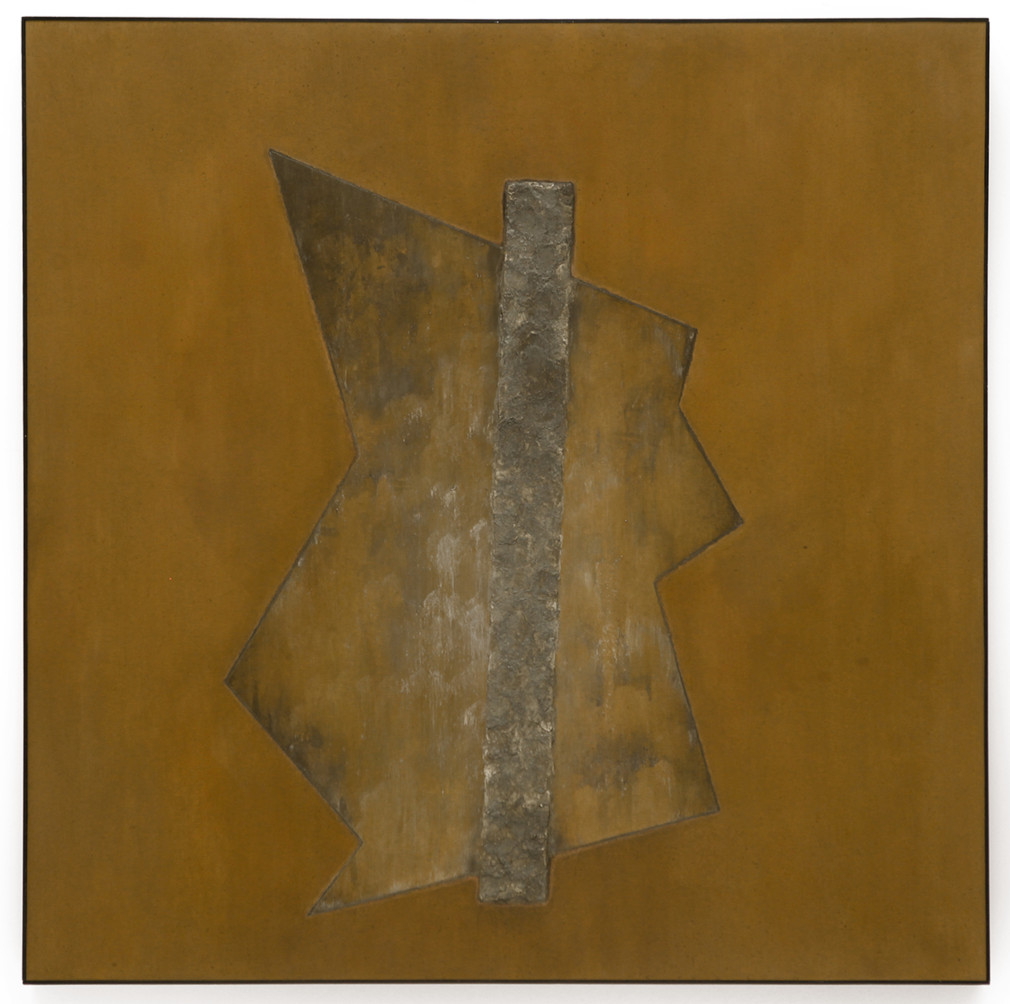 "Divergent Harmonies No. 1 , April 2015, copper, tin, pine, plywood, aluminum, 36 7/16""h x 36 3/16""w x 2""d  AVAILABLE"