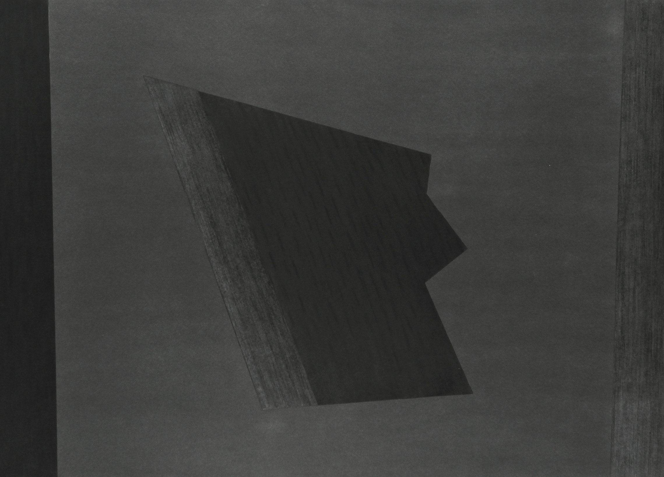 "Divergent Harmonies No. 3 , 2015, charcoal on Stonehenge, 44"" x 56""  AVAILABLE"